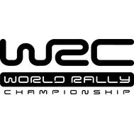 Наклейка WRC без фона, фото 1