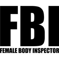 Наклейка FBI, фото 1