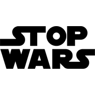 Наклейка Stop Wars, фото 1