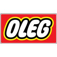 Наклейка Oleg, фото 1