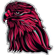 Наклейка Красный Орел, фото 1