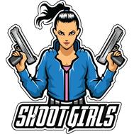 Наклейка Shoot Girls, фото 1