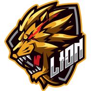 Наклейка Lion, фото 1