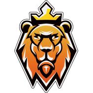 Наклейка Лев в короне, фото 1
