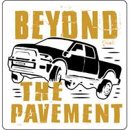 Наклейка Beyond the pavement, фото 1