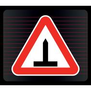 Наклейка Европейский знак «Шипы», фото 1