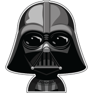 Наклейка Star Wars Дарт Вейдер, фото 1
