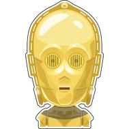 Наклейка Star Wars C3PO, фото 1
