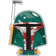 Наклейка Star Wars Боба Фетт, фото 1