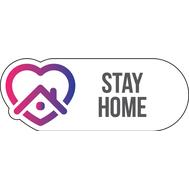 Наклейка Stay Home, фото 1