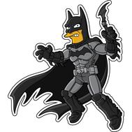 Наклейка Бэтмен, фото 1