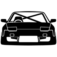 Наклейка JDM car, фото 1