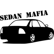 Наклейка Sedan mafia, фото 1