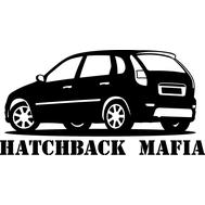 Наклейка Hatchback mafia, фото 1