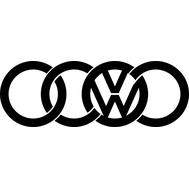 Наклейка VW Audi, фото 1
