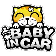 Наклейка Baby in car, фото 1