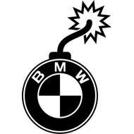Наклейка Bomb, фото 1