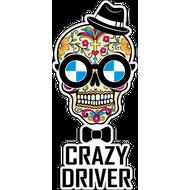Наклейка Crazy driver, фото 1