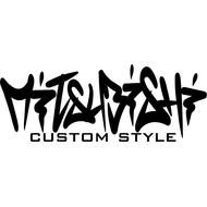 Наклейка Mitsubishi cusmom style, фото 1