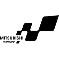 Наклейка Mitsubishi, фото 1