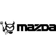 Наклейка Mazda Devil, фото 1