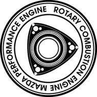 Наклейка Mazda Rotary, фото 1