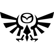 Наклейка Mazda eagle, фото 1