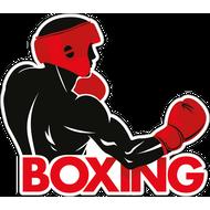 Наклейка Боксерский удар, фото 1