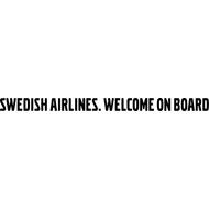 Наклейка Swedish airlines, фото 1