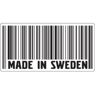 Наклейка Made in Sweden, фото 1
