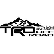 Наклейка TRD Offroad, фото 1