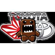 Наклейка Toyota Domo Kun, фото 1