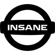 Наклейка Insane, фото 1