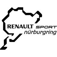 Наклейка Renault Nurburgring, фото 1