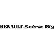 Наклейка Renault Scenic RX4, фото 1
