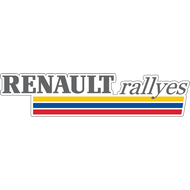 Наклейка Renault rallyes, фото 1