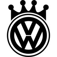 Наклейка VW king, фото 1