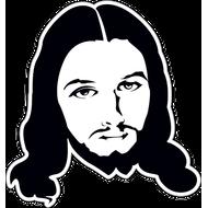 Наклейка Иисус, фото 1