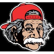 Наклейка Альберт Эйнштейн, фото 1