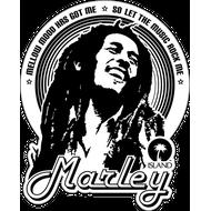 Наклейка Bob Marley, фото 1