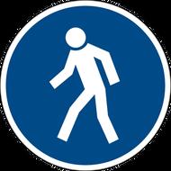 Наклейка Знак М 10, фото 1
