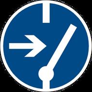 Наклейка Знак М 14, фото 1