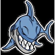 Наклейка Акула-003, фото 1