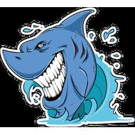 Наклейка Акула-008, фото 1
