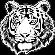 Наклейка Тигр-003, фото 1