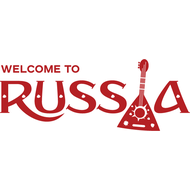 Наклейка Welcome to Russia, фото 1