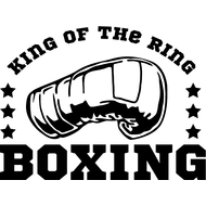 Наклейка King of the ring, фото 1