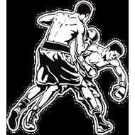 Наклейка Fight, фото 1