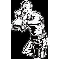 Наклейка Боксер, фото 1