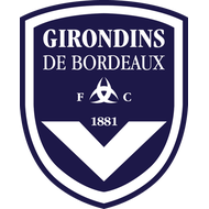 Наклейка Girondins de Bordeaux FC, фото 1